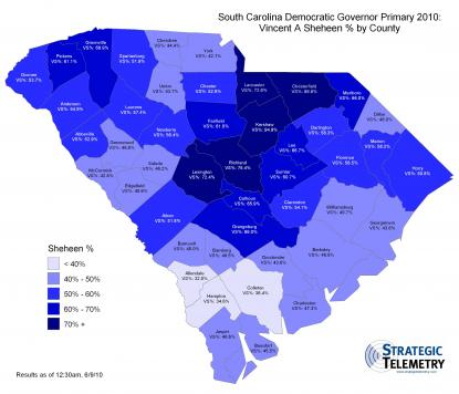 2010 South Carolina Democratic Gubernatorial Primary